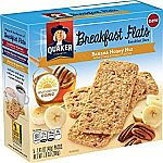 40-Count Breakfast Flats Breakfast Bars (Banana Honey Nut) $12