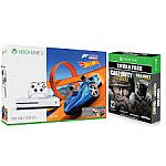 Xbox One S 500GB Forza Horizon 3 Hot Wheels Bundle with Call of Duty Infinite Warfare + WWII Bundle $199