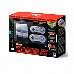 Nintendo Super NES SNES Classic Edition Entertainment System $80 (Amazon Prime Now, YMMV)