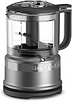 KitchenAid KFC3516CU 3.5 Cup Mini Food Processor $30