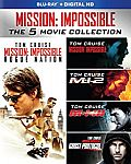 Mission: Impossible: The 5 Movie Collection (Blu-ray + Digital HD) $20 (Save 50%)