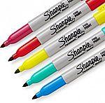 24-Ct Sharpie Color Burst Permanent Markers $6.75