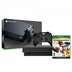 Xbox One X 1TB Console + Overwatch: Game of the Year Edition $460
