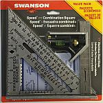 Swanson Speed Square and Combination Square Bundle $7.75