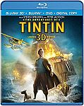 The Adventures of Tintin (Blu-ray 3D + Blu-ray + DVD + Digital HD) $10 (org $35)