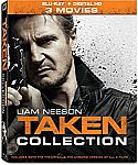 Taken 3-Movie Collection [Blu-ray + Digital Copy] $13 (orig. $25)