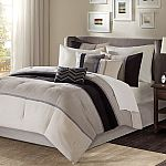 Madison Park 7 Piece Palisades Comforter Set (Queen or King) $20