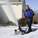 Snow Joe SJ621 Ultra 18-Inch Electric Snow Thrower With Headlight + 1 Year Extended Warranty (Certified Refurbished) $99