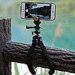 Adjustable Tripod Stand Holder for iPhone, Cellphone $1.79