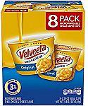 8 Count Velveeta Shells & Cheese Pasta, Single Serve Microwave Cups $5.30