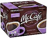 100-Count McCafe French Roast Coffee K-Cups $27.18