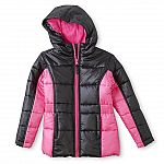 2 Kids Puffer Coats + 2 Bib Snow Pants, Knit Hat & Gloves + $50 SYW Points for $56