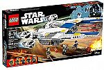 LEGO 75155 Star Wars Rebel U-Wing Fighter (659 Pieces) $49