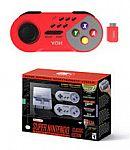 Nintendo Super NES Classic + Red Wireless Controller Bundle $94.99