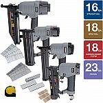 Home Depot - 4-pc NuMax Standard Finish Kit $110 (30% off) & More Nailers & Compressors + Free Shipping