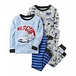 Carter's kids 4-piece Pajama Sets (3 Sets for $21 - Kohl's card required)