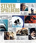 Steven Spielberg Director's Collection [Blu-Ray] (Jaws, 1941, ET, Jurassic Park, The Lost World and more) $23.49