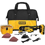 DEWALT XR 28-Piece Cordless 20-Volt Max Oscillating Tool Kit (1 Battery Included) $129