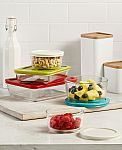 Pyrex 10-Piece Simply Store Set with Colored Lids $14.99