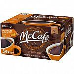 54 ct. McCafe Pumpkin Spice Coffee K-Cups $9.81