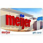 $100 Meijer Gift Card $94