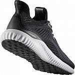 adidas Men's Alphabounce EM Running Shoes (Black) $34.99