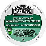 24-Count Martinson Coffee Single Serve RealCups (Italian Roast) $5.32 or Less