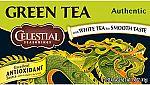 Amazon - Extra 20% off select Celestial Seasonings Green Tea