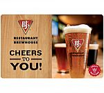 $50 BJ's Restaurants Gift Card $40, $100 BP Gas Gift Card $94 and more