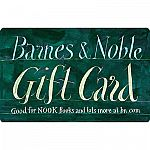 $100 Barnes & Noble Gift Card for $90