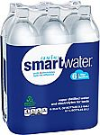 6-Count Smartwater 33.8 Ounce Bottle $6.29