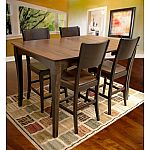 AmeriHome USA Amish Made 5-Piece Counter-Height Dining Set $999