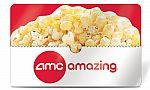 Select Groupon Customers: $26 AMC Theatres eGift Card $13