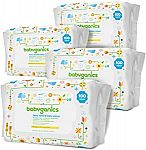 800-Count Babyganics Fragrance-Free Face Hand and Baby Wipes $17 or Less