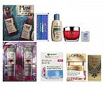 Women's Beauty Sample Box $8 or Hair Care Box $10 + Equal Amount Credit in Future Purchase