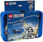 Lego Nexo Knights Sorting Box Blue $10