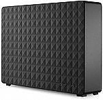 "Seagate Expansion 8TB USB 3.0 3.5"" Desktop External Hard Drive $140"