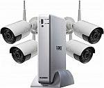 Lorex 4-Channel, 4-Camera Outdoor Wireless 1080p 1TB DVR Surveillance System $250