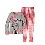 Dr. Seuss Boys and Girls' Tight Fit 2-Piece Cotton PJ Set from $6