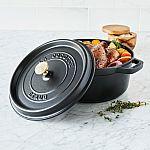 Staub 1102406 Round Cocotte Oven, 4 quart $99.97 (73% Off)