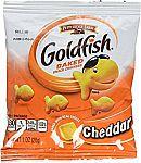 45 Counts Pepperidge Farm Cheddar Goldfish Crackers (1oz Pouch) $9.50