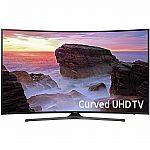 "Samsung UN49MU6500FXZA Curved 49"" 4K Ultra HD Smart LED TV $469, 65"" version $800"