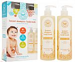 2-Pack of 17-oz The Honest Company Baby Shampoo and Body Wash $10 + Free Shipping