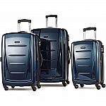 Samsonite Winfield 2 Fashion Hardside 3 Piece Spinner Luggage Set $200