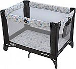Graco Pack 'n Play Playard with Automatic Folding Feet (Carnival) $37