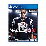 Madden NFL 18 (Xbox One / PS 4) $29 (Reg. $59.99) & More