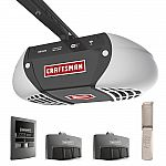 Craftsman 57915 3/4 Horsepower Ultra -Quiet Belt Drive Garage Door Opener with WI-FI Connectivity $220 + $50 back in points