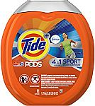 61-count Tide PODS Plus Febreze Sport Odor Defense 4 in 1 HE Turbo Laundry Detergent Pacs $11.70
