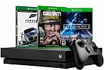Microsoft - Xbox One X 1TB Console + extra XBox One S controller + 3-Month XBox Live + Choice of select game $499