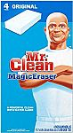 4Ct Mr. Clean Magic Eraser Multi-Surface Cleaner $2.47